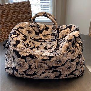 Vera Bradley floral duffel bag